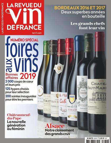 Édition abonnés - La Revue du vin de France